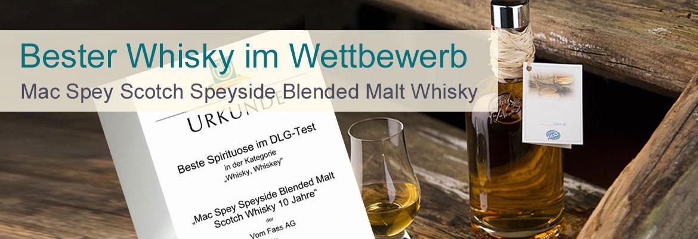 Mac Spey Scotch Speyside Blended Malt Whisky