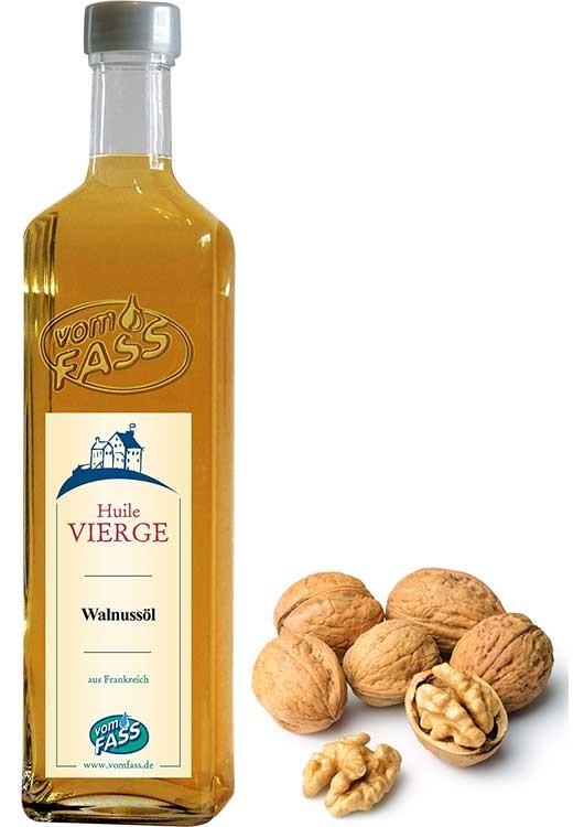 Walnussöl vierge aus gerösteten Nüssen