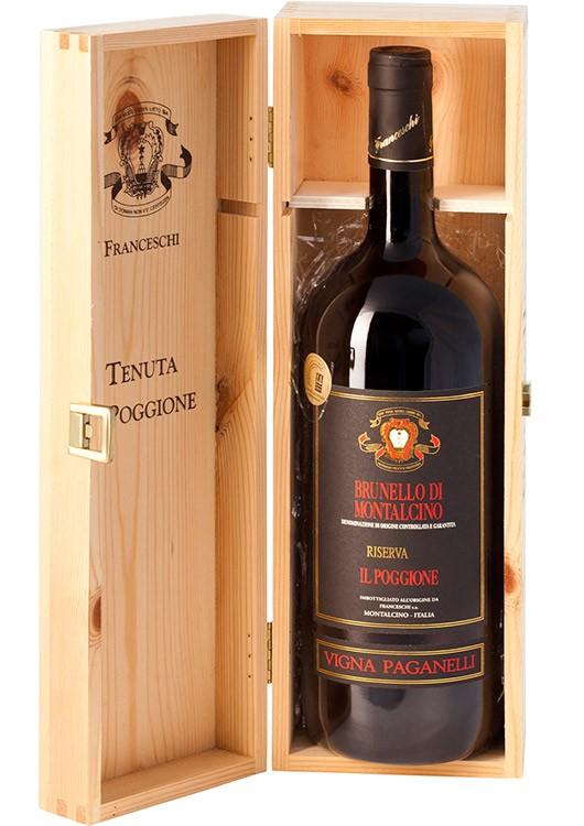 2013 Brunello di Montalcino Magnumflasche in Holzkiste