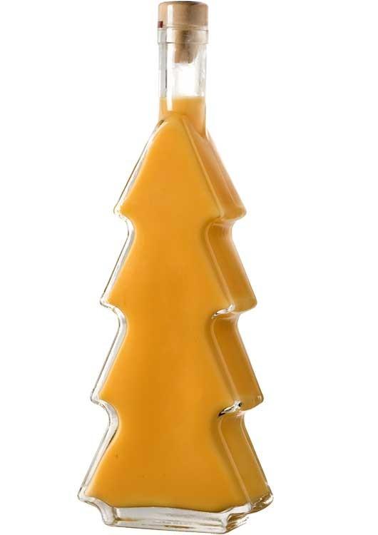 Bombardino Likör in Tannenbaumflasche
