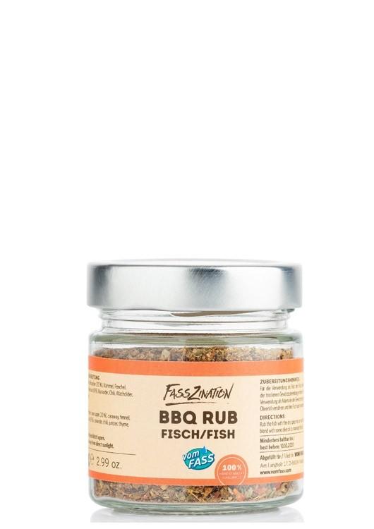 BBQ Rub Fisch