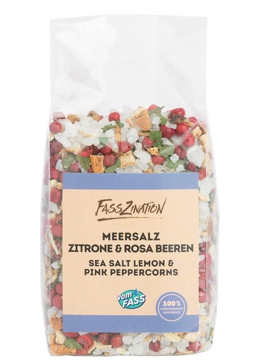 Meersalz Zitrone & Rosa Beeren im Nachfüllbeutel