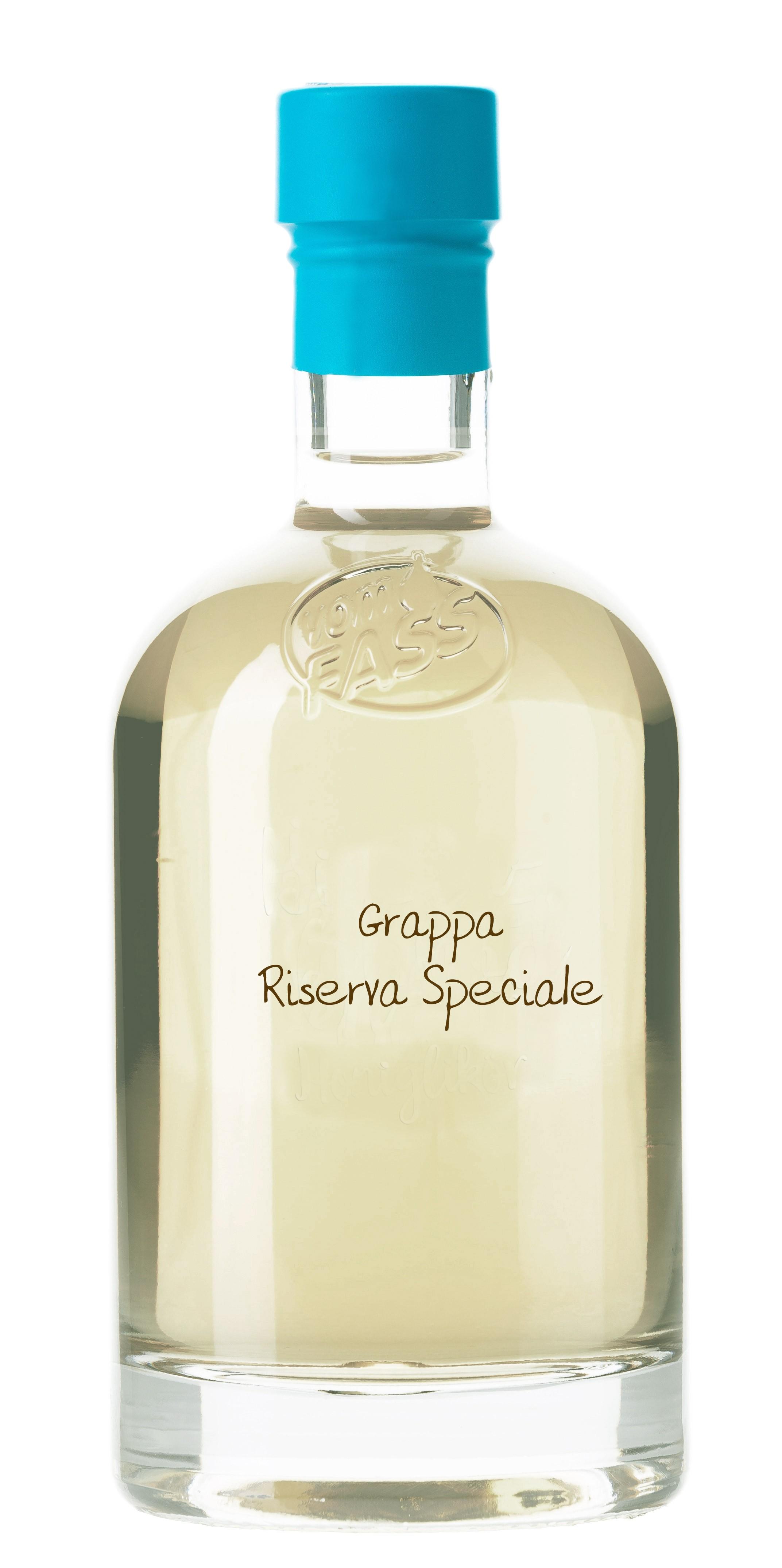 Grappa Chardonnay Riserva Gereift im Brasilianischen Rumfass