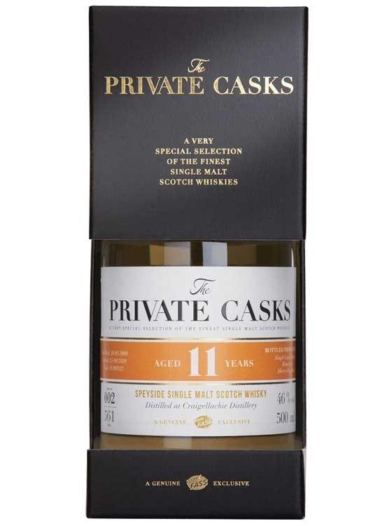 Speyside Single Malt Scotch Whisky Distilled at Craigellachie Distillery Single Cask, 11 Jahre, (500 ml), #L900322,