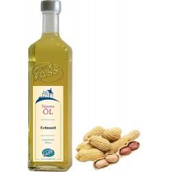 Erdnussöl aus gerösteten Nüssen