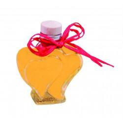 Limoncino aus Italien in Herzflasche