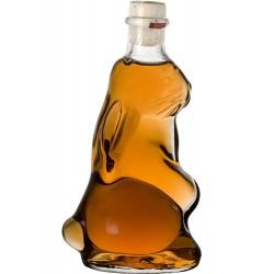 Weinbergspfirsichlikör in Hasenflasche für Ostern