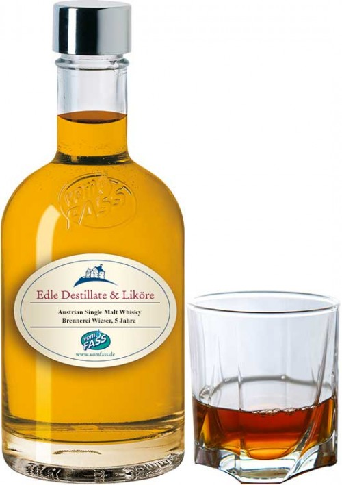 Brennerei Wieser, Austrian Single Malt Whisky, 5 Jahre