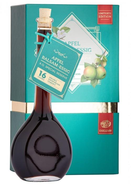 Apfel Balsam-Essig X.O. Special Reserve Solera 16 Jahre, im Eichenfass gereift