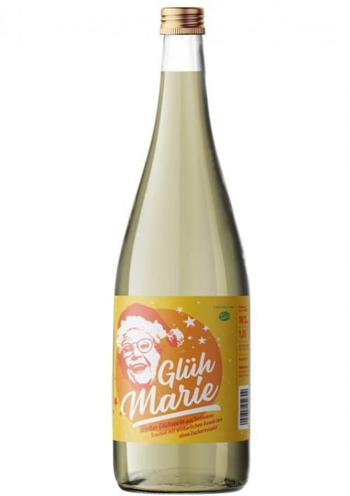 Glüh Marie Glühwein aus Weisswein 1 Liter Flasche