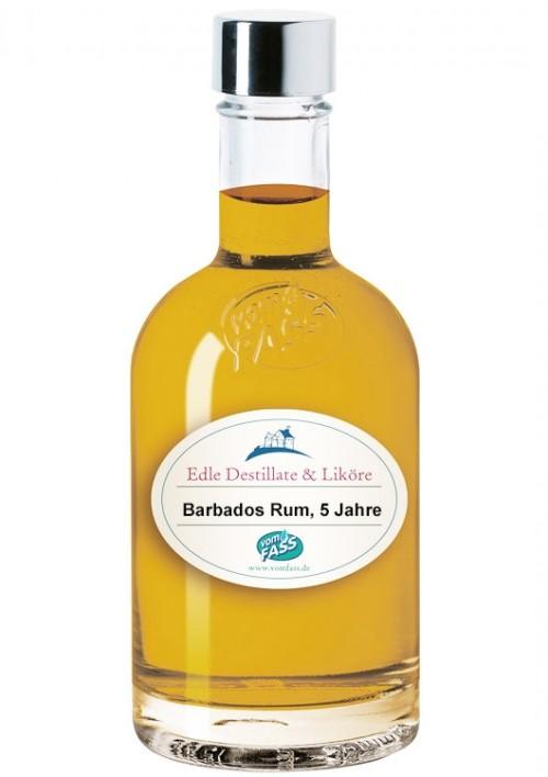 Barbados Rum, Whiskyfass finish, 5 Jahre