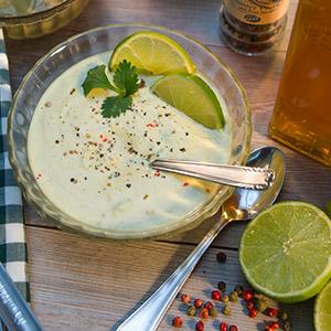 Basilikum-Zitronen-Mayonnaise