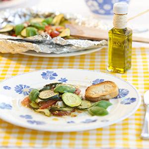 Gemüse aus der Folie (mit Kochcast)