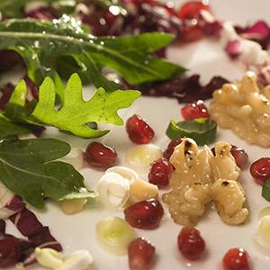 Rucola-Radiccio-Salat