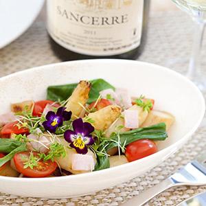 Spargel-Bärlauch-Salat