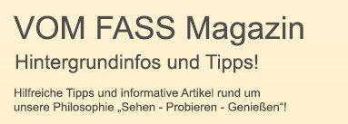 VOM FASS Magazin