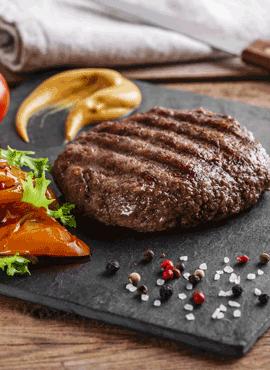 Perfekter Hamburger
