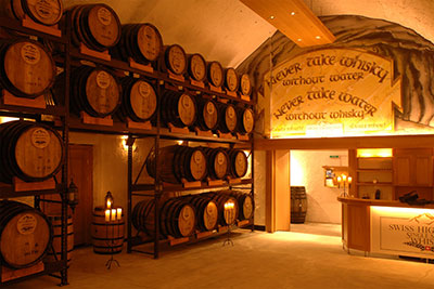 Whisky Brennereien